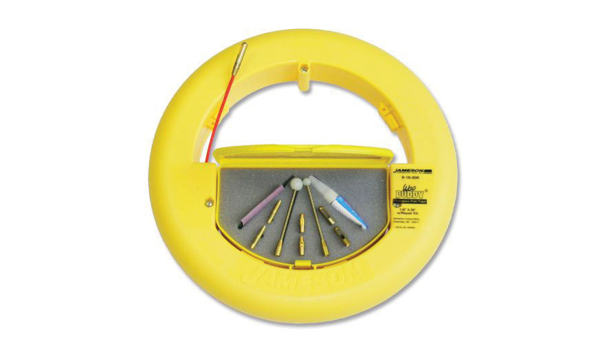 Jameson's 1/8-in., 100-ft. Round, Fiberglass Fish Tape