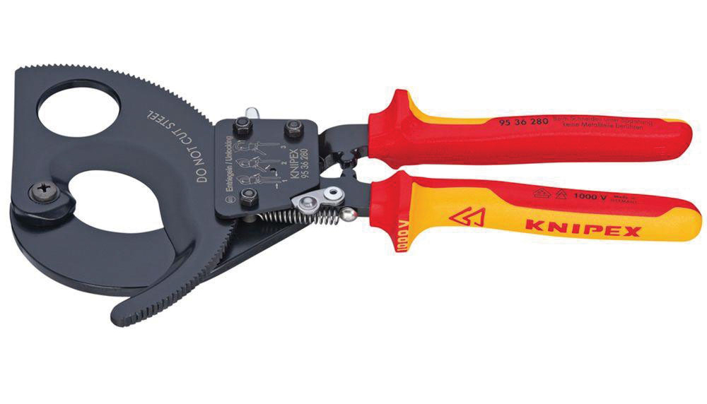 Knipex Tools' 11-In. Ratcheting Cable Cutter