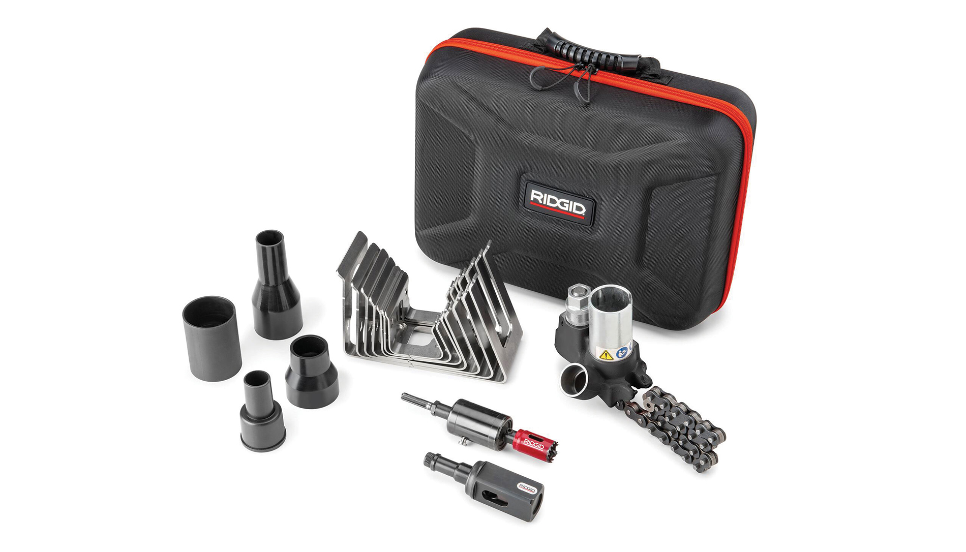 Ridgid's Press-In 3/4-In. Branch Connector Tool Kit