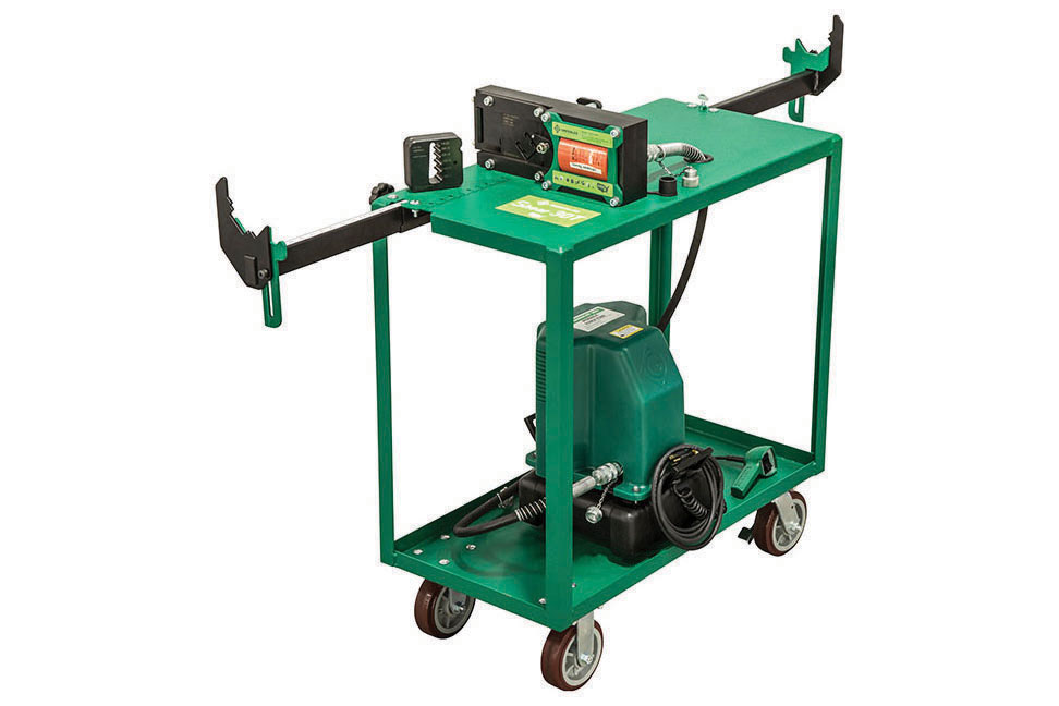 Greenlee's Hydraulic Strut and Rod Cutter