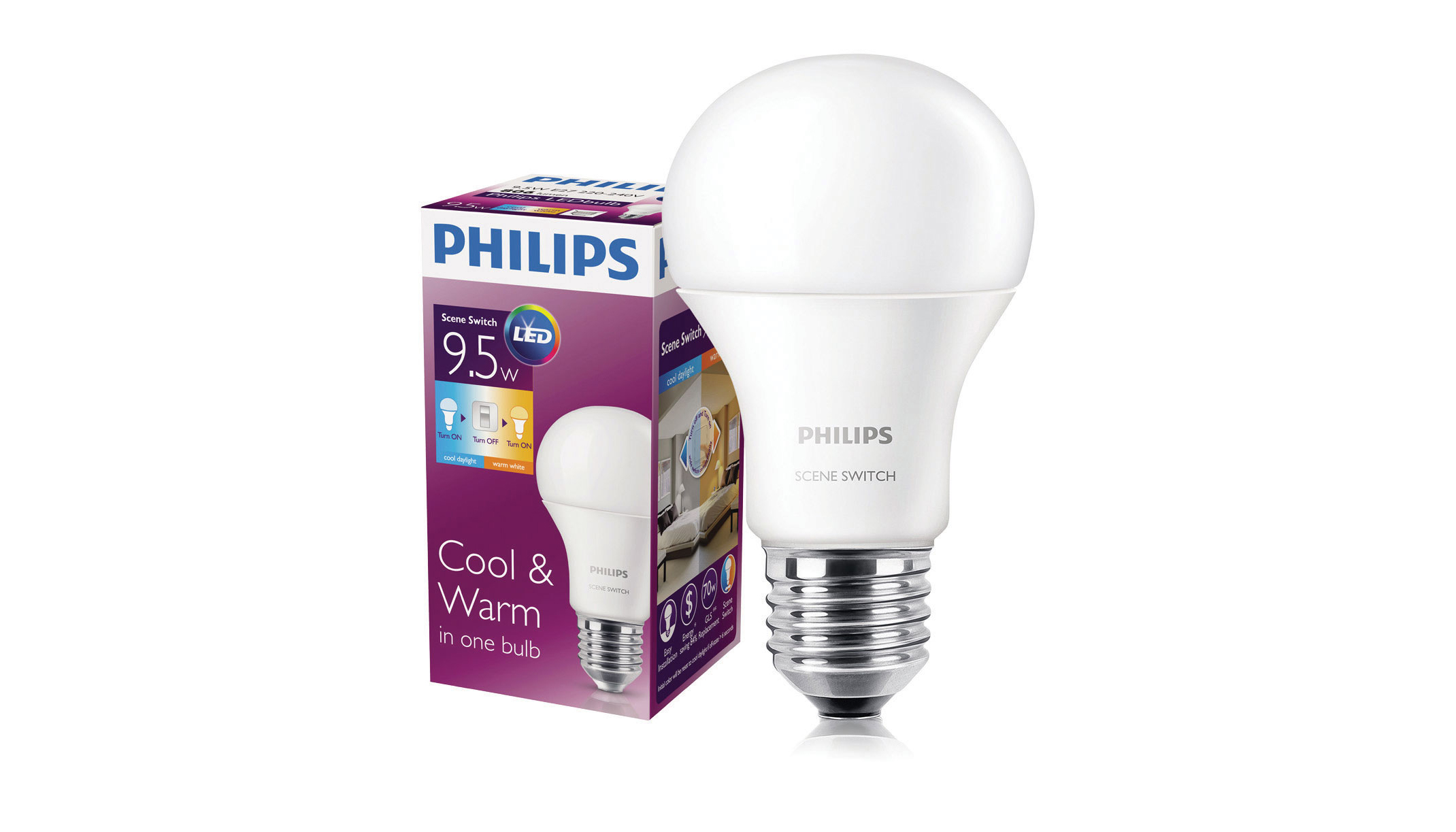 Led Lampen Philips : Philips sceneswitch plug and play led lamp electrical contractor