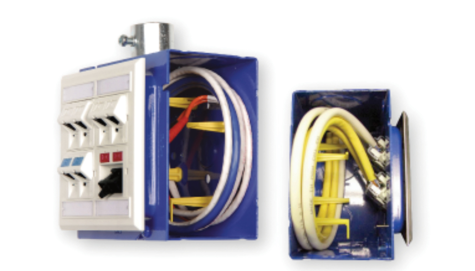 Box Electrical Contractor Magazine Arlington Inwall Wiring Kit Prewired Tv Bridge 1gang Boxes White Randl Industries