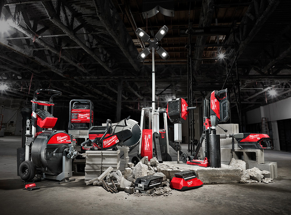 Milwaukee Tool's MX FUEL Equipment System.