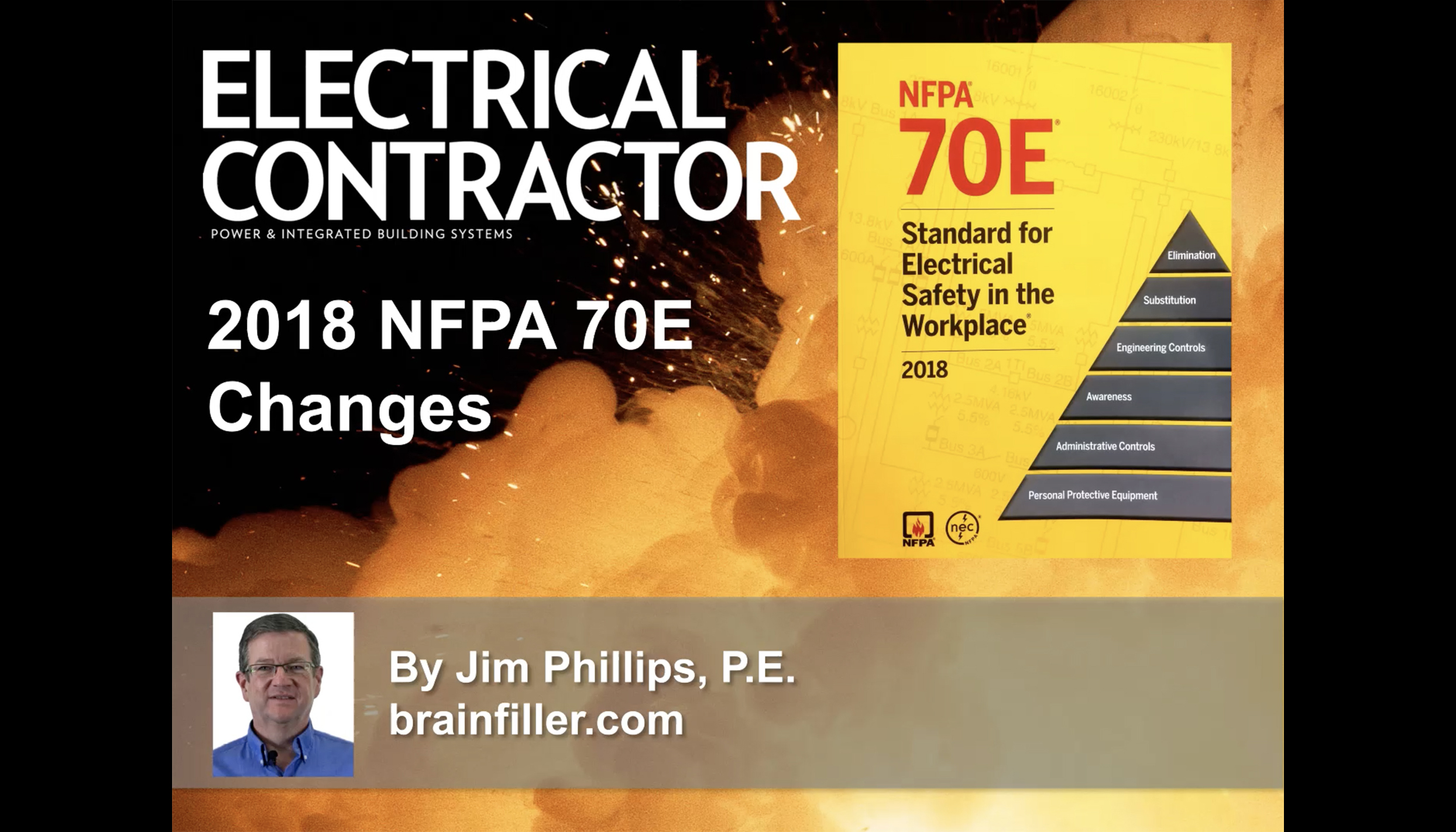 Watch: 2018 NFPA 70E Updates and Changes   Electrical Contractor
