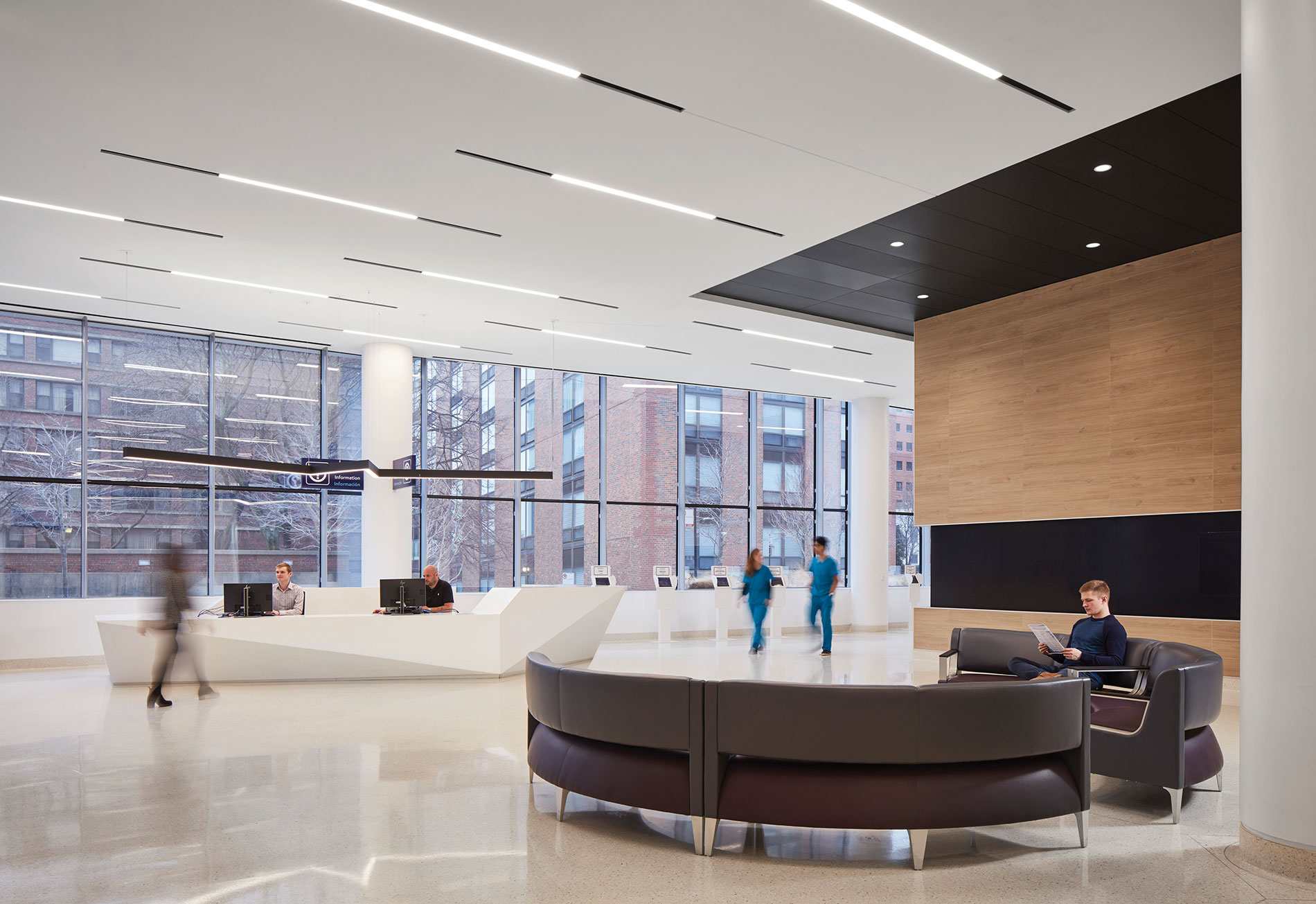"Lighting design principles for healthy healthcare spaces applies to hospitals, specialty clinics, outpatient facilities, nursing homes and assisted living. ""Energy savings may have driven LED adoption in the healthcare sector, but from a design perspective, that's just the beginning,"" said Randy Guillot of Gensler, a global design and architecture firm."