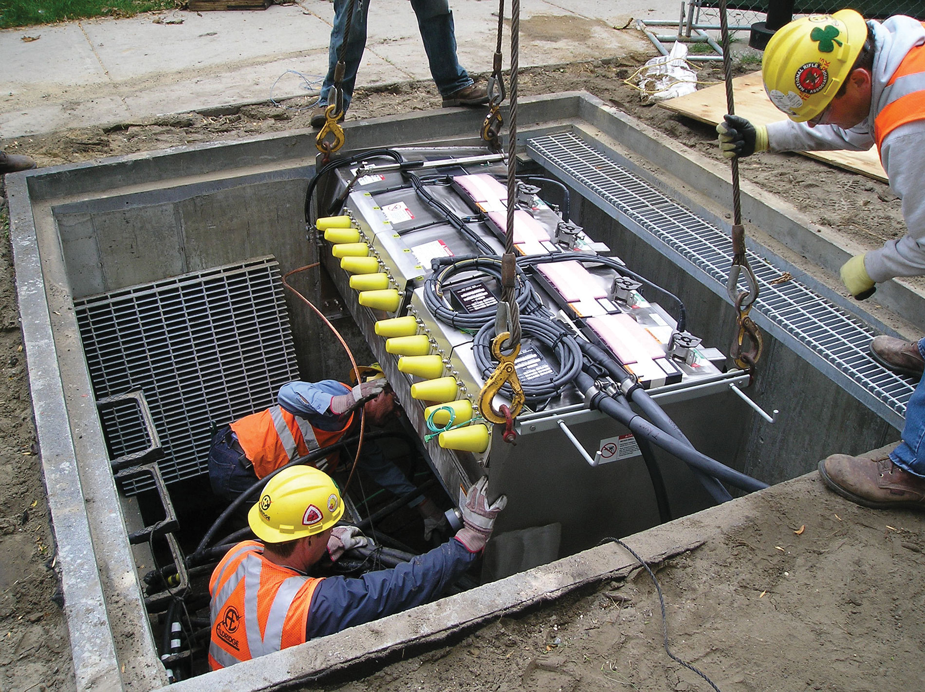 S&C Vista underground distribution switchgear is one operational component of the IIT microgrid. Photo Credit: IIT and ComEd / IIT