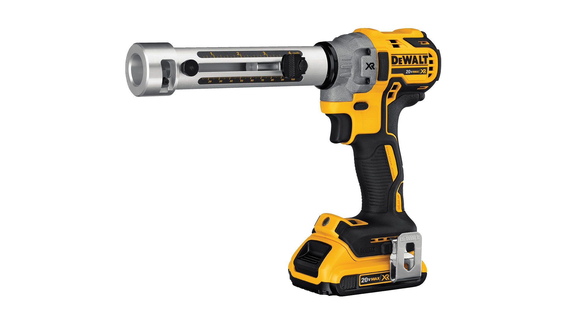 The smaller form and lighter weight of DeWalt's 20V MAX cordless cable stripper helps the user complete work faster and with less strain.