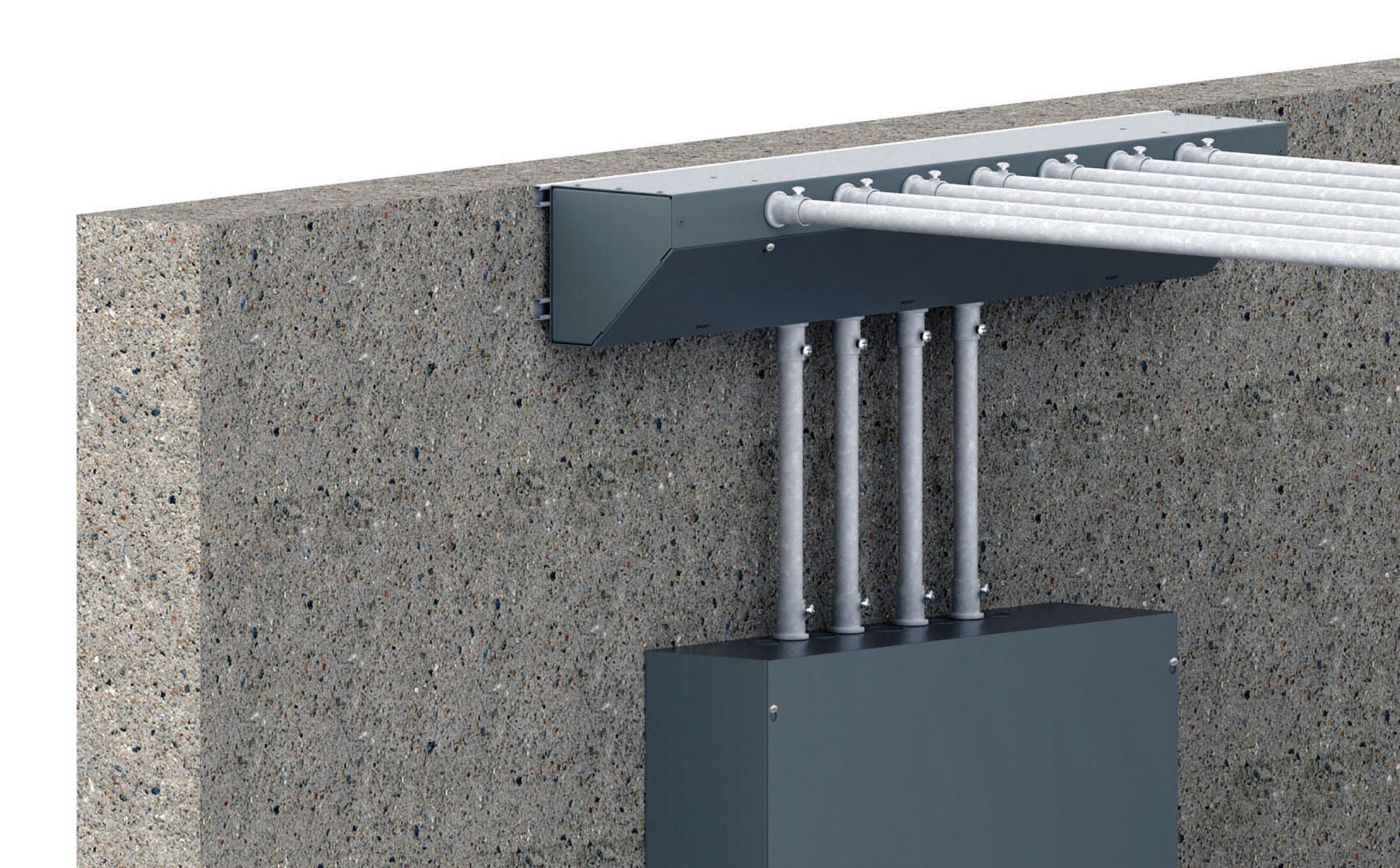nVent's Angled Trough eliminates the need for 90-degree conduit bends, cuts installation time by 80 percent, and offers a flexible alternative to traditional troughs for wire distribution, junction and termination in typical electrical room applications.