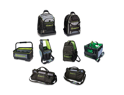 Greenlee Next Generation Tool line of tool bags and backpacks