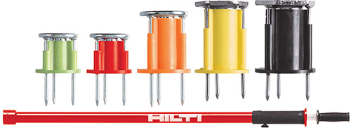 Hilti single-point cast-in anchors