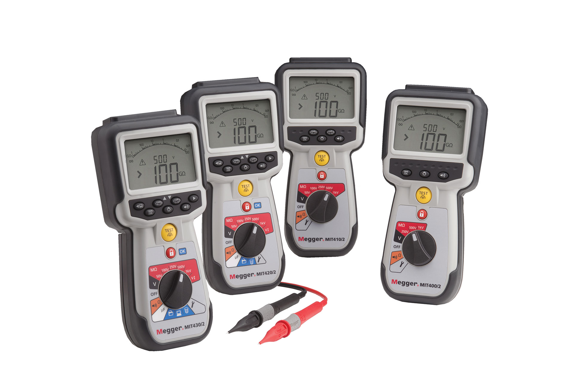 Megger MIT400-2 series testers