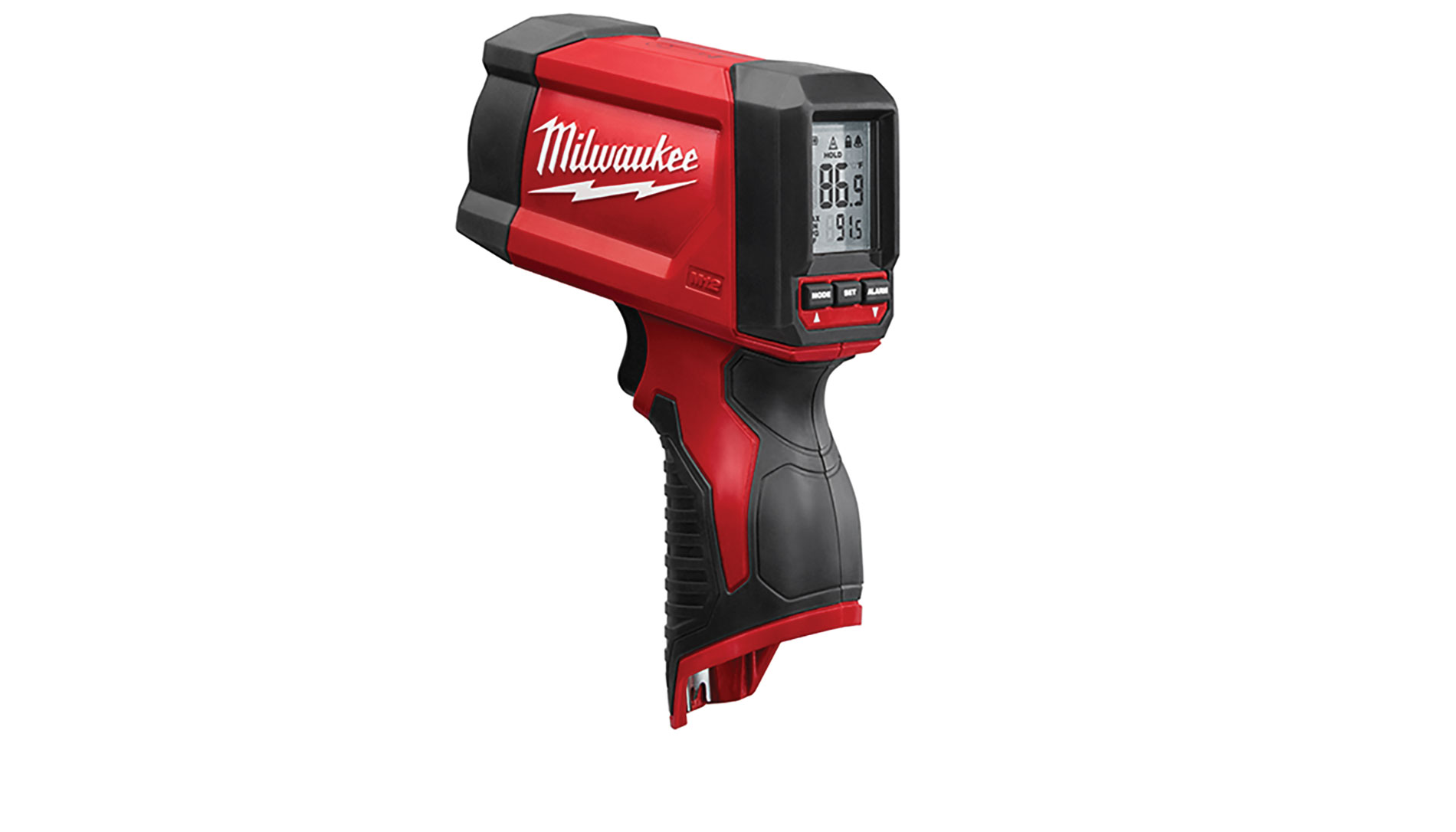 Milwaukee 12:1 Infrared Temp-Gun www.milwaukeetool.com