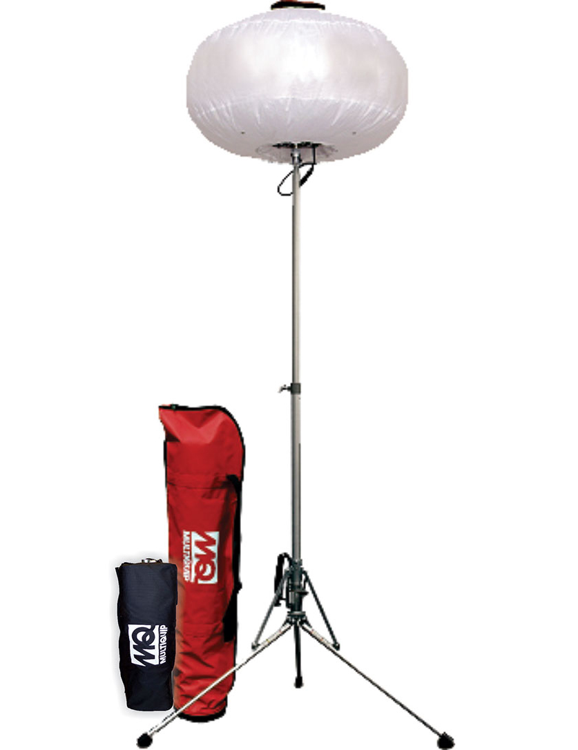 Multiquip portable balloon light