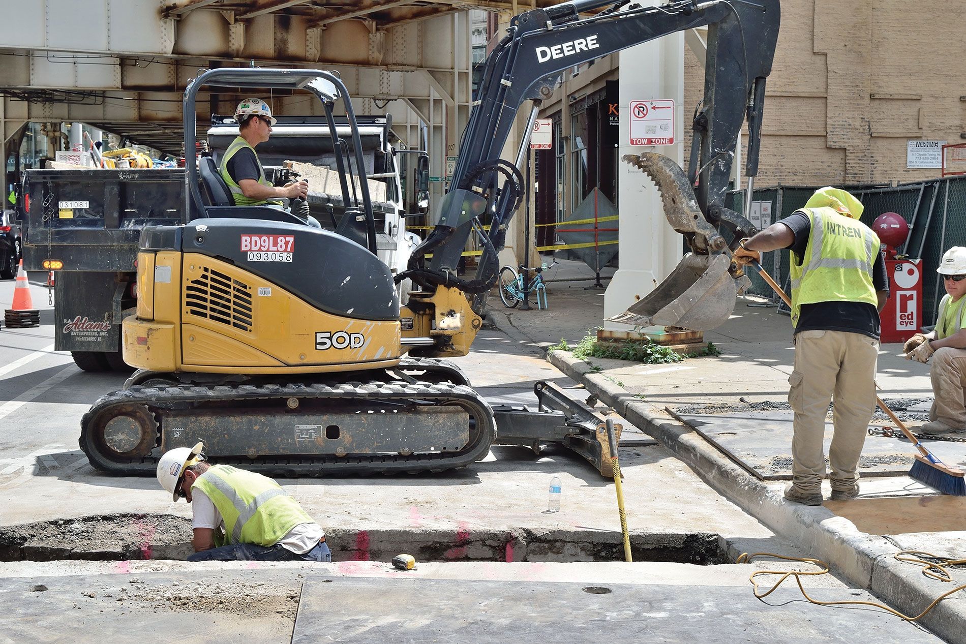 Digging A Hole Trenching And Excavation Safety Electrical Contractor Magazine