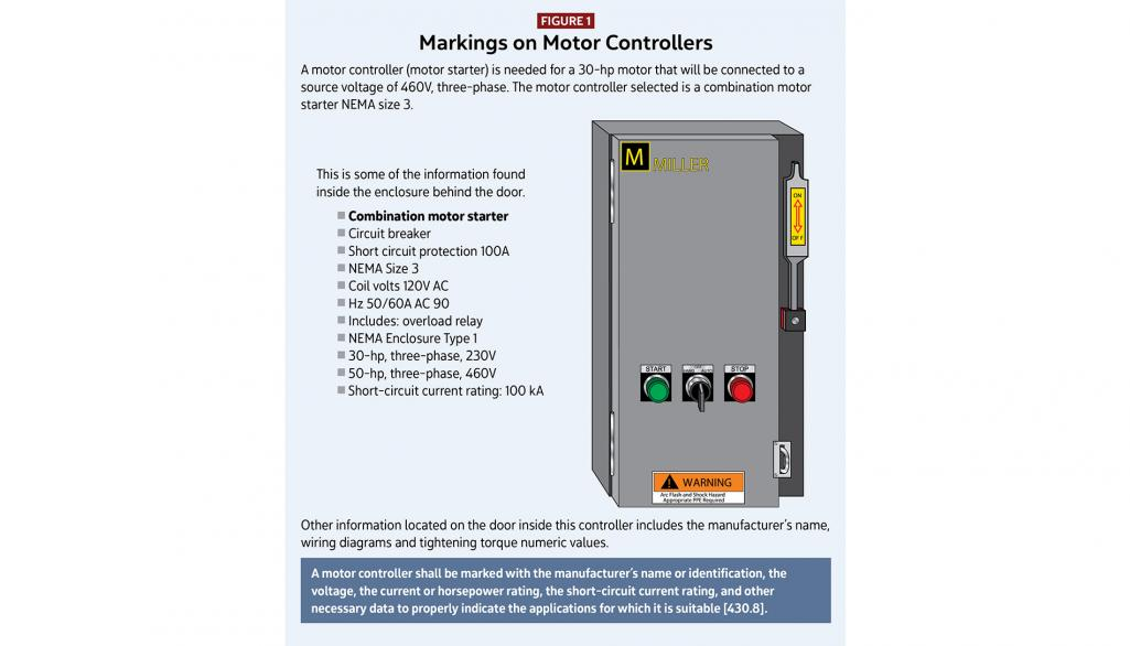 Motors, Motor Circuits and Controllers, Part V: Article 430 ... on