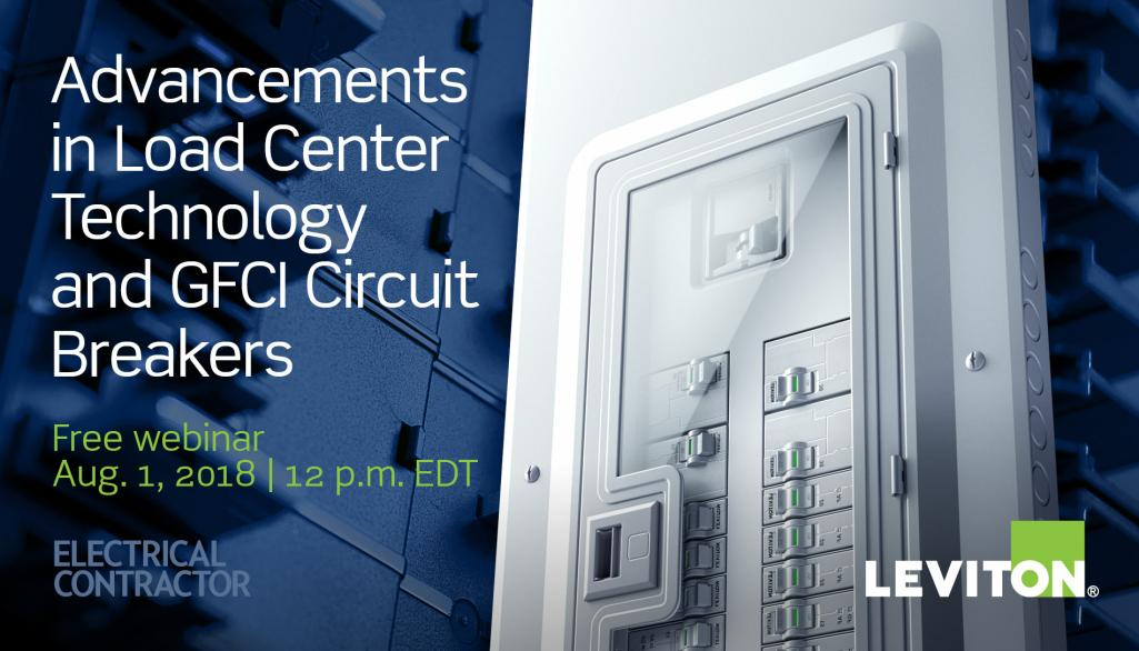 Leviton Enters Residential Load Center Market: Webinar Recording Available: Advancements In Load Center