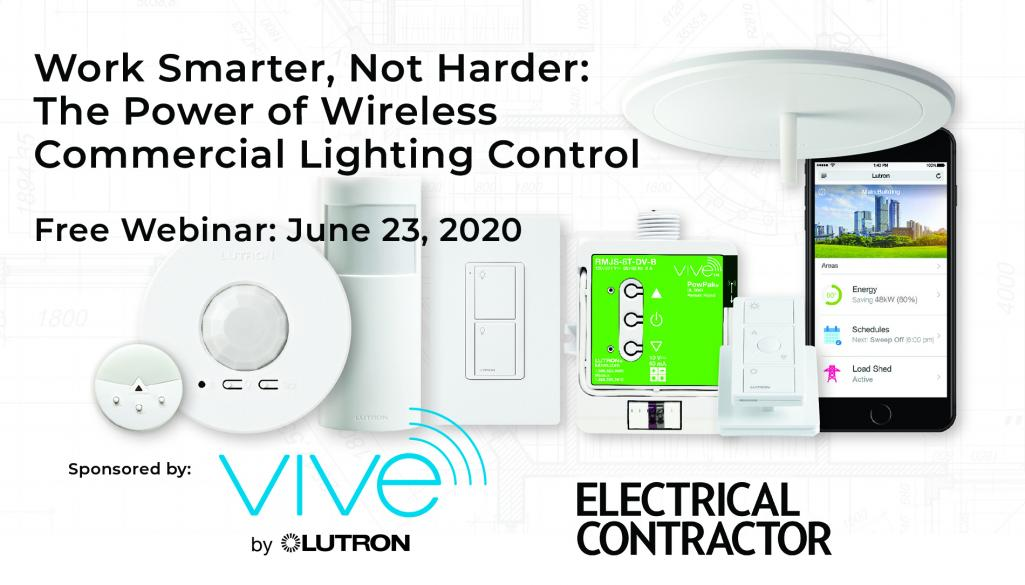 wireless commercial lighting control