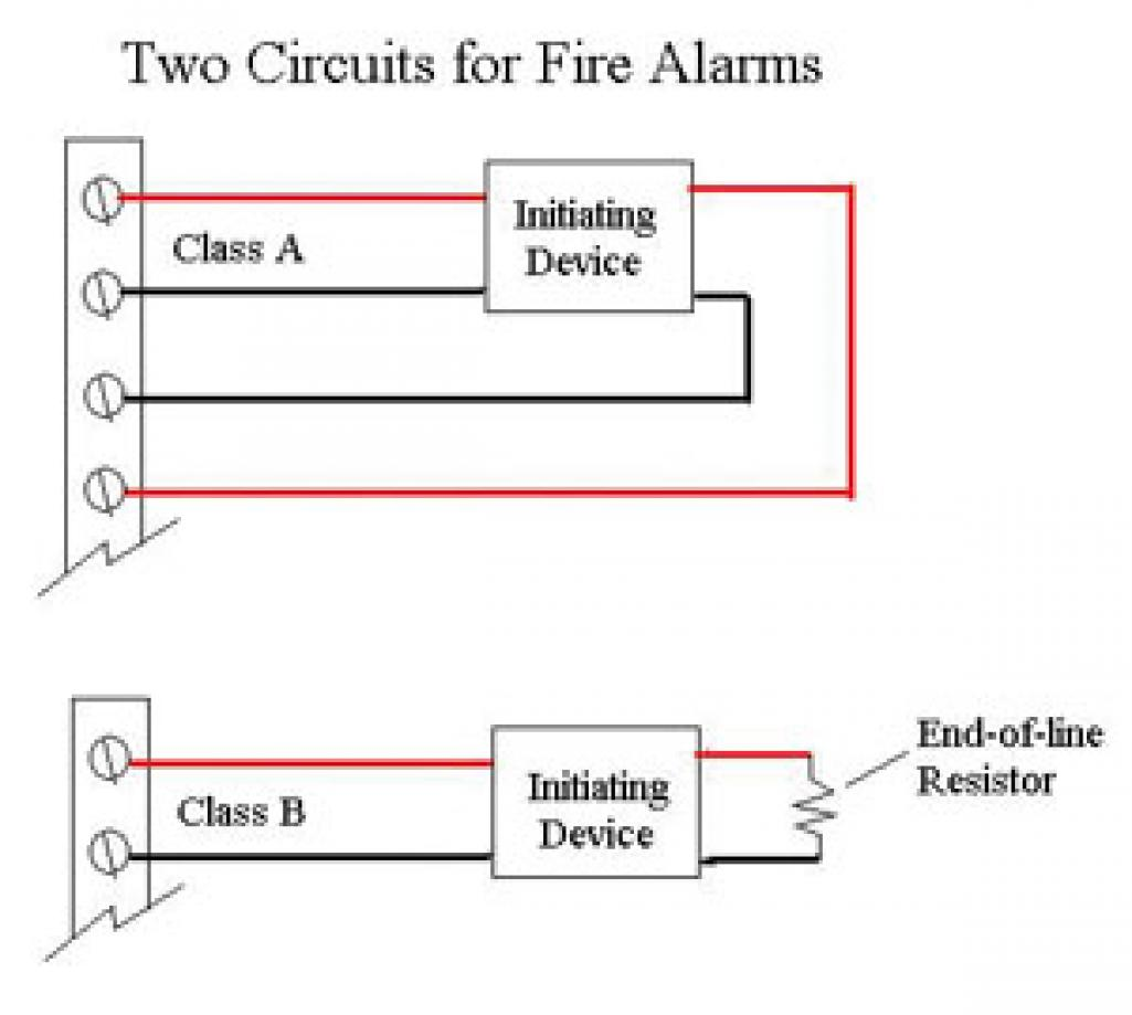 nice residential fire alarm wiring diagram gallery