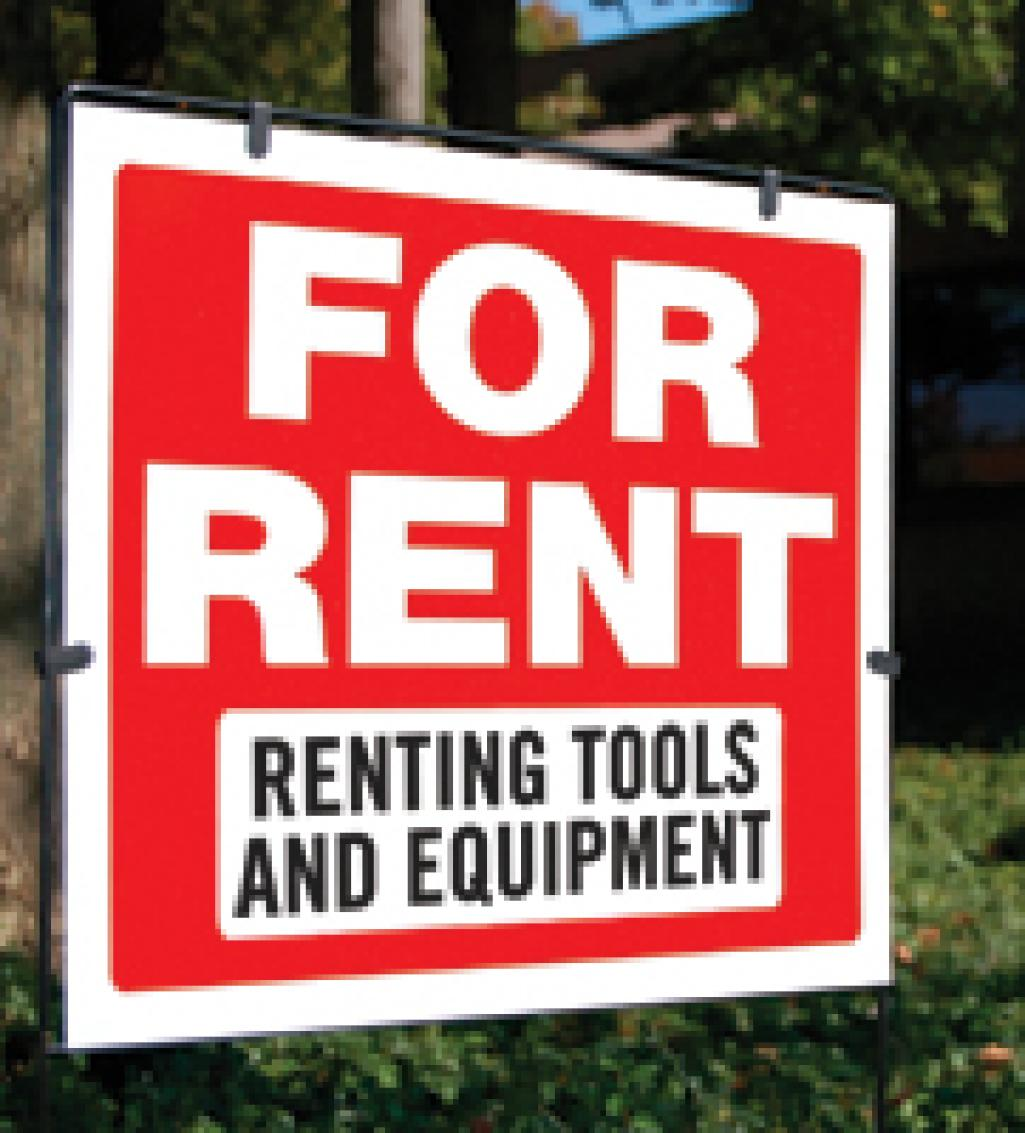 For Rent: Renting Tools and Equipment | Electrical Contractor Magazine