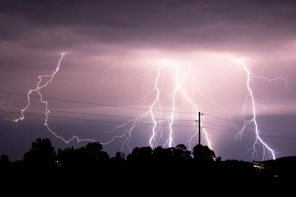 Power Lines Storm Image by Tobias Hämmer from Pixabay