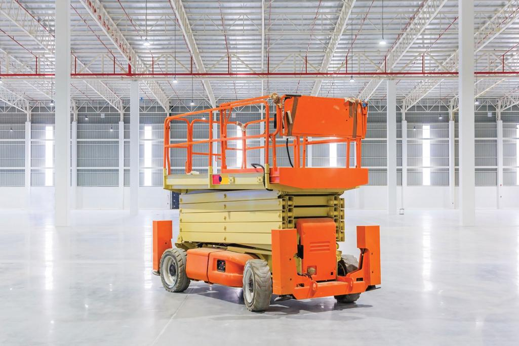 Aerial lift.