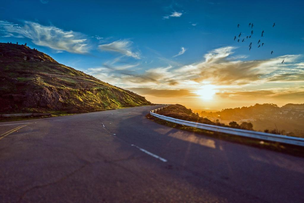 Road and Sun Image by Jan Alexander from Pixabay