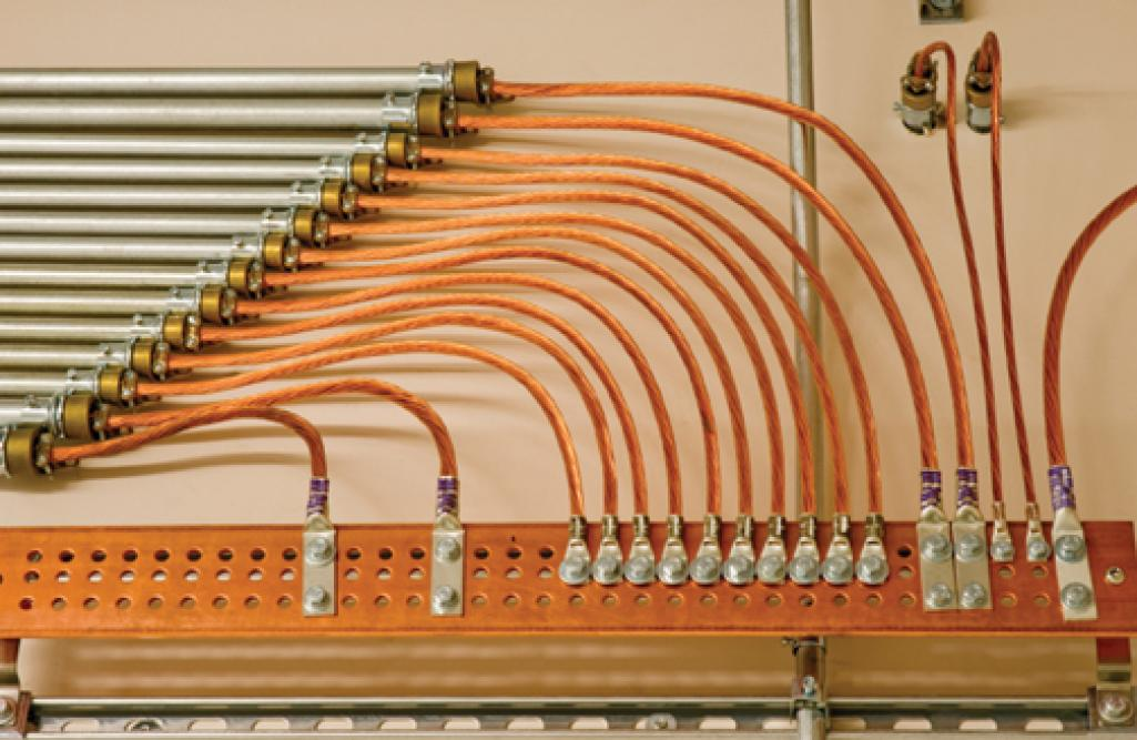 Electrical Ground Bars : Guardian of the ground electrical contractor magazine