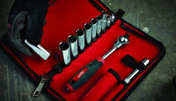 Milwaukee Tool's 12-Piece Ratchet and Socket Set