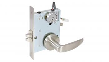 Seco-Larm's Electromechanical Mortise Lockset