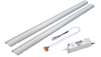 Fulham's LinearHO Universal Voltage LED Retrofit Kit