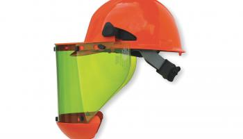 Salisbury by Honeywell's face shield system