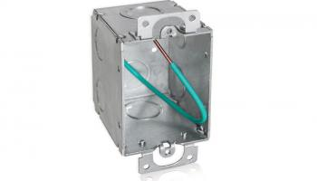 Orbit Industries' WMB-PT Wide Steel Electrical Switch Box
