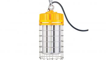 Topaz's 17150LEDP2 150W temporary high-bay fixture