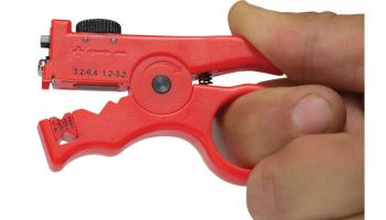 Platinum Tools' Slit and Ring Cable Stripper