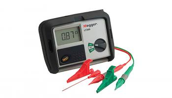 Megger's LT300 high current loop tester