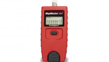 Platinum Tools' MapMaster mini cable tester