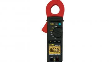 AEMC Instruments' 565 clamp-on leakage current meter