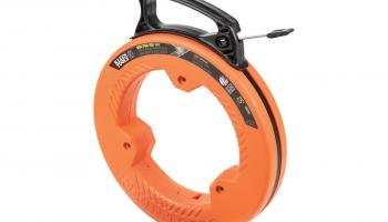 Klein Tools' 56335 1/4-in.-wide spring steel fish tape