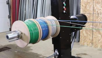 Midwestern Products' Spool Machine