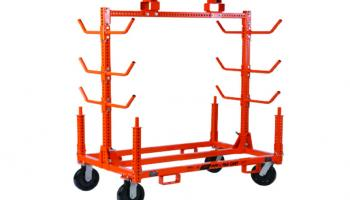 Pipe and Prefab Cart.