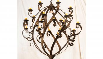 2nd Ave Lighting's Caliope Chandelier