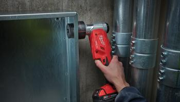 Milwaukee 18V cordless knockout punch