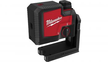 Milwaukee Redlithium USB rechargeable three-point laser | www.milwaukeetool.com
