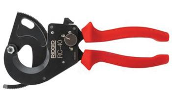 Ridgid's Manual Cable Cutter