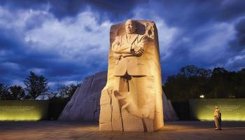 Martin Luther King Memorial Washington, D.C. Shutterstock/ Kropici/ Benjamin Scherliss Photography