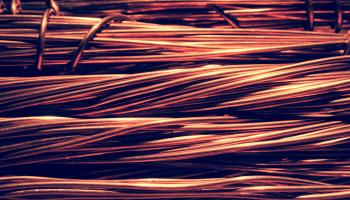 Copper wiring.