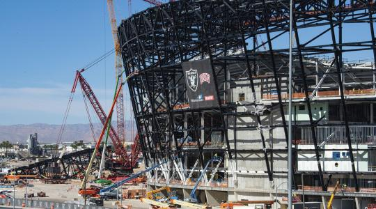Raiders Stadium Image Credit: Cashman Professional Photography