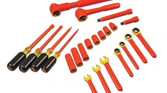 Cementex offers a wide range of insulated tools.