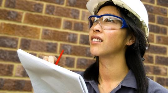 iStock Woman Contractor