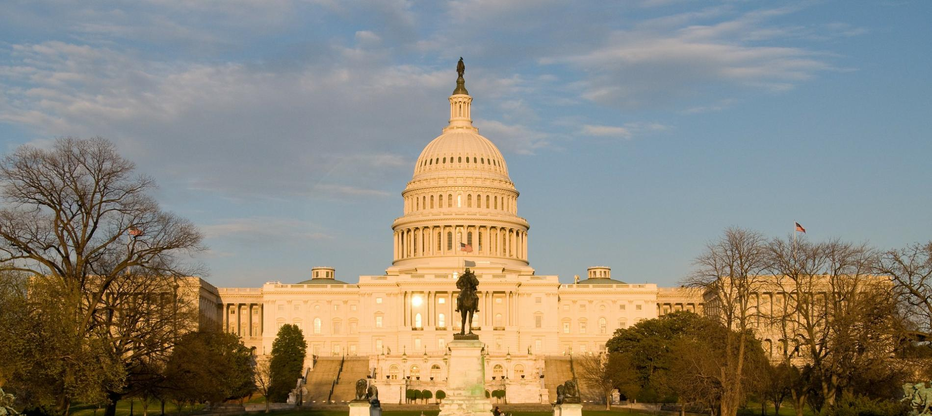 U.S. Capitol Building Front Image by Art Bromage from Pixabay